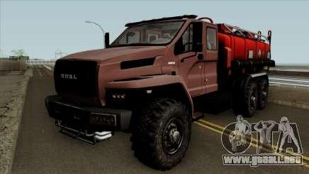Ural Camión De Combustible De La Siguiente Neo para GTA San Andreas