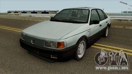 VW Passat B3 v2 SA Plates IVF para GTA San Andreas