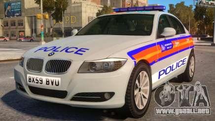 BMW M3 Series Saloon Area Car para GTA 4