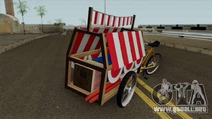 Indonesian Flag Seller Cart para GTA San Andreas