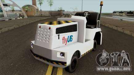 Baggage Handler from GTA IV para GTA San Andreas
