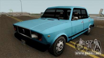 VAZ 2107 en GTA SA para GTA San Andreas