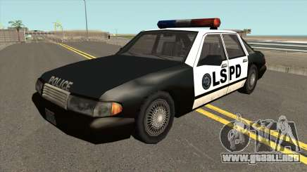 Echo Police SA Style para GTA San Andreas
