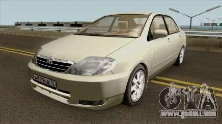 Toyota Corolla Sedan 2000 para GTA San Andreas