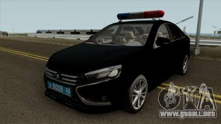 Lada Vesta Traffic Police v2 para GTA San Andreas