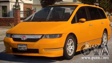 2006 Honda Odyssey para GTA 4