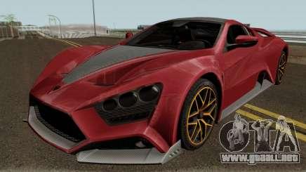 Zenvo ST1 GT 18 para GTA San Andreas