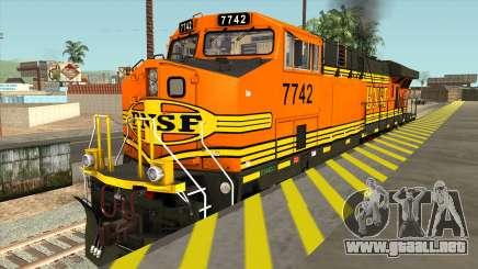 GE ES44DC - BNSF Locomotive para GTA San Andreas