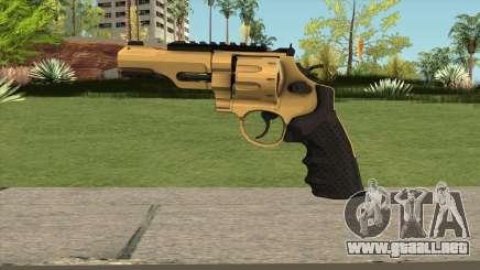Revolver R8 Gold para GTA San Andreas