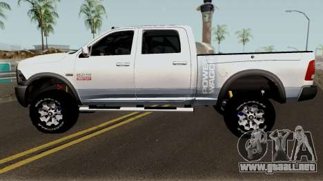 Dodge Ram 2500 Power Wagon 2017 para GTA San Andreas left