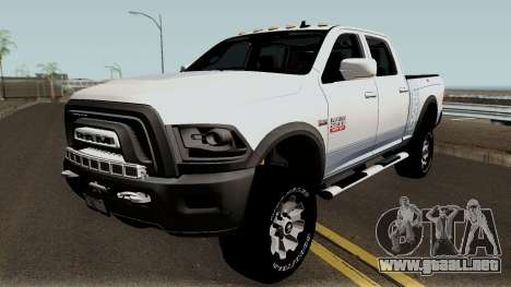 Dodge Ram 2500 Power Wagon 2017 para GTA San Andreas
