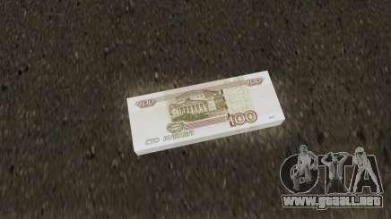 New Money (100 Rub) para GTA San Andreas