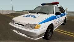 VAZ 2114 de la Policía de la Región de Yaroslavl para GTA San Andreas
