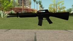 New M4 Black para GTA San Andreas