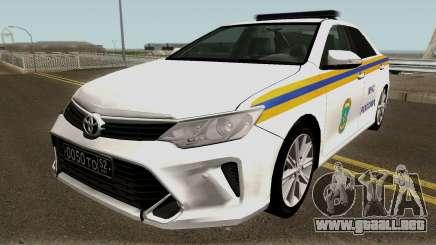 Toyota Camry MOE para GTA San Andreas