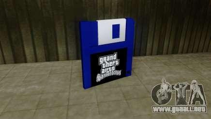 Save Icon HD para GTA San Andreas