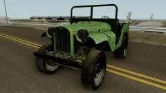 El GAZ-64 un Pigmeo Piloto (R-1) de 1941 para GTA San Andreas