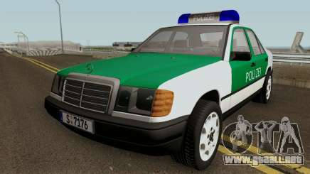Mercedes-Benz E-Klasse W124 1993 Police para GTA San Andreas