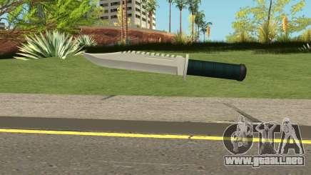 Knife HQ (With HD Original Icon) para GTA San Andreas