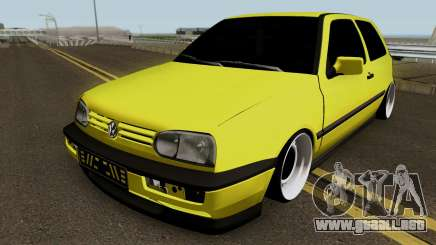 Volkswagen Golf 3 Stanced v2 para GTA San Andreas