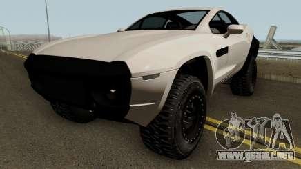 Local Motors Rally Fighter HQ para GTA San Andreas