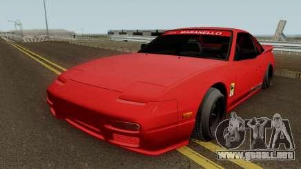 Nissan 180sx Autongraphic 1996 para GTA San Andreas
