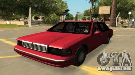 Declasse Premier con Insignias y Extras para GTA San Andreas