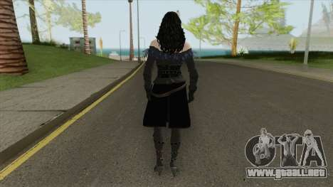 Yennefer (The Witcher 3) para GTA San Andreas