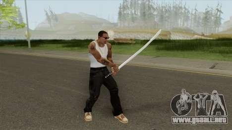 Katana (HD) para GTA San Andreas