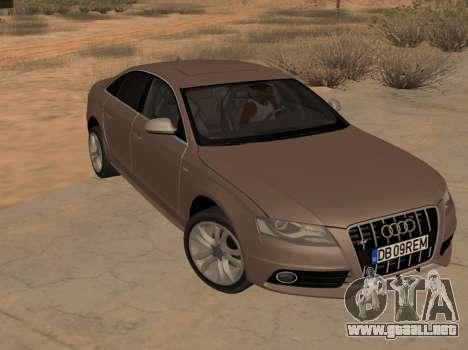 Audi S4 B8 para GTA San Andreas