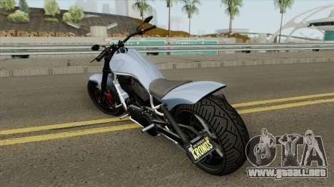 Western Motorcycle Nightblade (V2) GTA V para GTA San Andreas