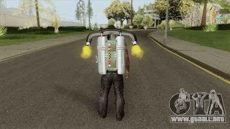Jetpack (HD) para GTA San Andreas