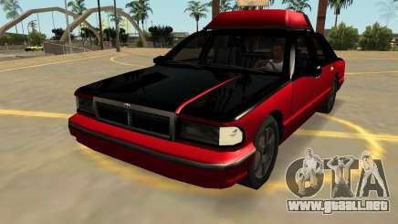 Declasse Premier v2 (FIV, Insignias, Extras) para GTA San Andreas