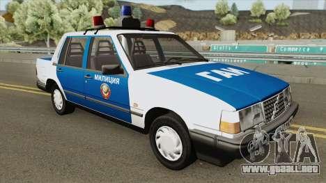 Volvo 460 (Police) 1991 para GTA San Andreas