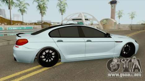 BMW M6 Gran Coupe (Modified) para GTA San Andreas