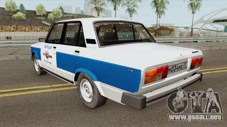 VAZ 2105 (Policía Municipal) para GTA San Andreas