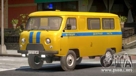 UAZ 3962 Police para GTA 4