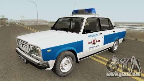 2107 (Policía Municipal) para GTA San Andreas