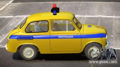 ZAZ 965 Police para GTA 4