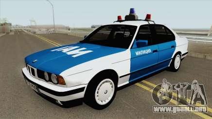 BMW 525i (E34) Police 1991 para GTA San Andreas