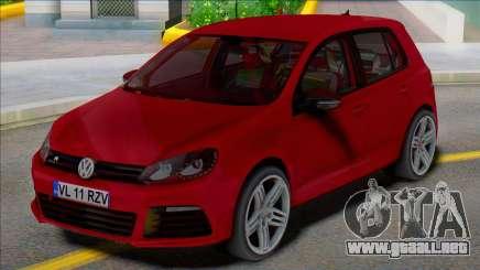 Volkswagen Golf 6 R 4 puertas para GTA San Andreas