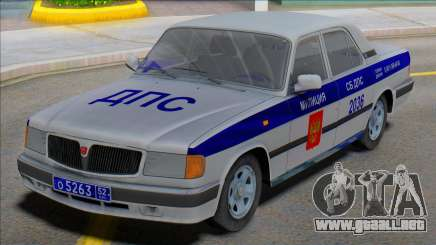 Gaz Volga 3110 DPS v2 para GTA San Andreas
