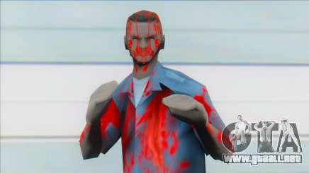 Zombie lvemt1 para GTA San Andreas