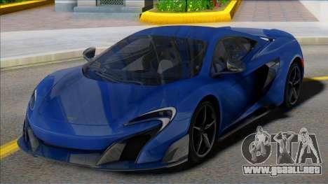 McLaren 675LT Coupe para GTA San Andreas