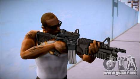 M4 M203 Tactico para GTA San Andreas