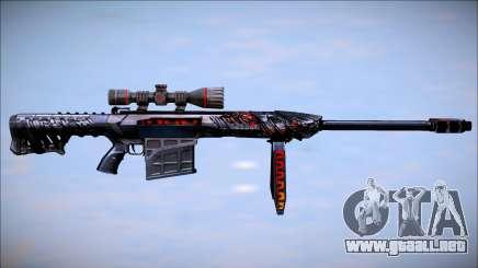 Crossfire Barret M82A1 Obsidian Beast para GTA San Andreas