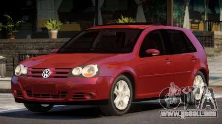 Volkswagen Golf PSI S-Tuned para GTA 4