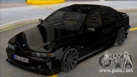 BMW E39 Romanian Plates para GTA San Andreas