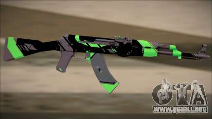 PROJECT ASIIMOV II (lime green) para GTA San Andreas