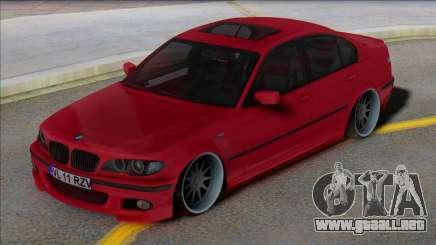 BMW E46 EU Plates para GTA San Andreas